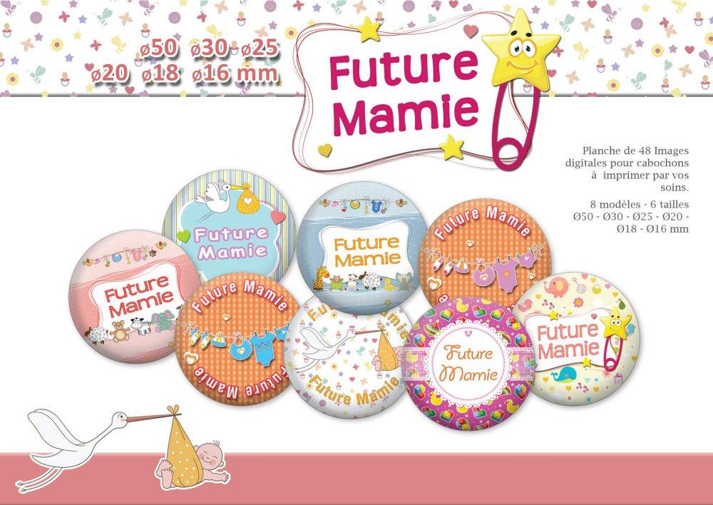 Future Mamie | Ø 50, 30, 25, 20, 18, 16mm | 48 images digitales | 19005