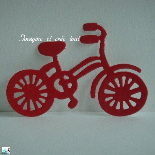 Découpe vélo, enfant, ballade, embellissement, scrapbooking, déco, découpe en papier dessin