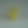 Découpe scrapbooking embellissement déco pendentif petite tétine bébé en mousse jaune bijoux, porte clef