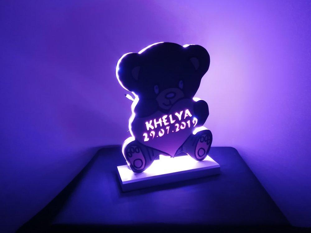 Lampe LED Ourson
