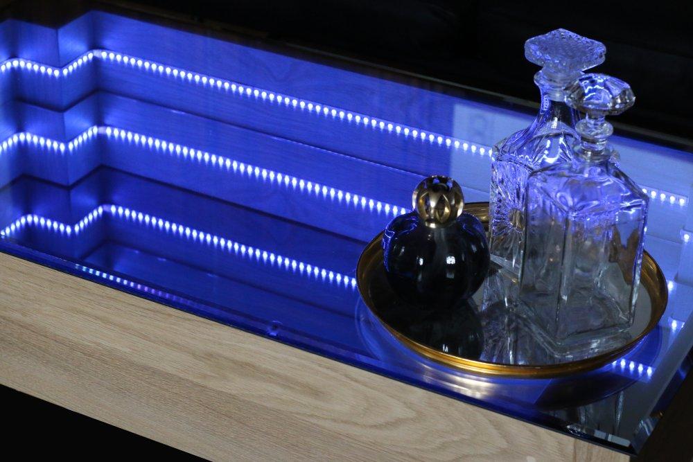 Table Basse Miroir Infini 1.0