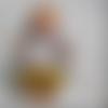 Patron tunique et bloomer pour poupée, poupon et peluche 30/34 cm
