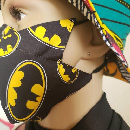 Masque forme papillon, masque tissu lavable afnor, france, masque france
