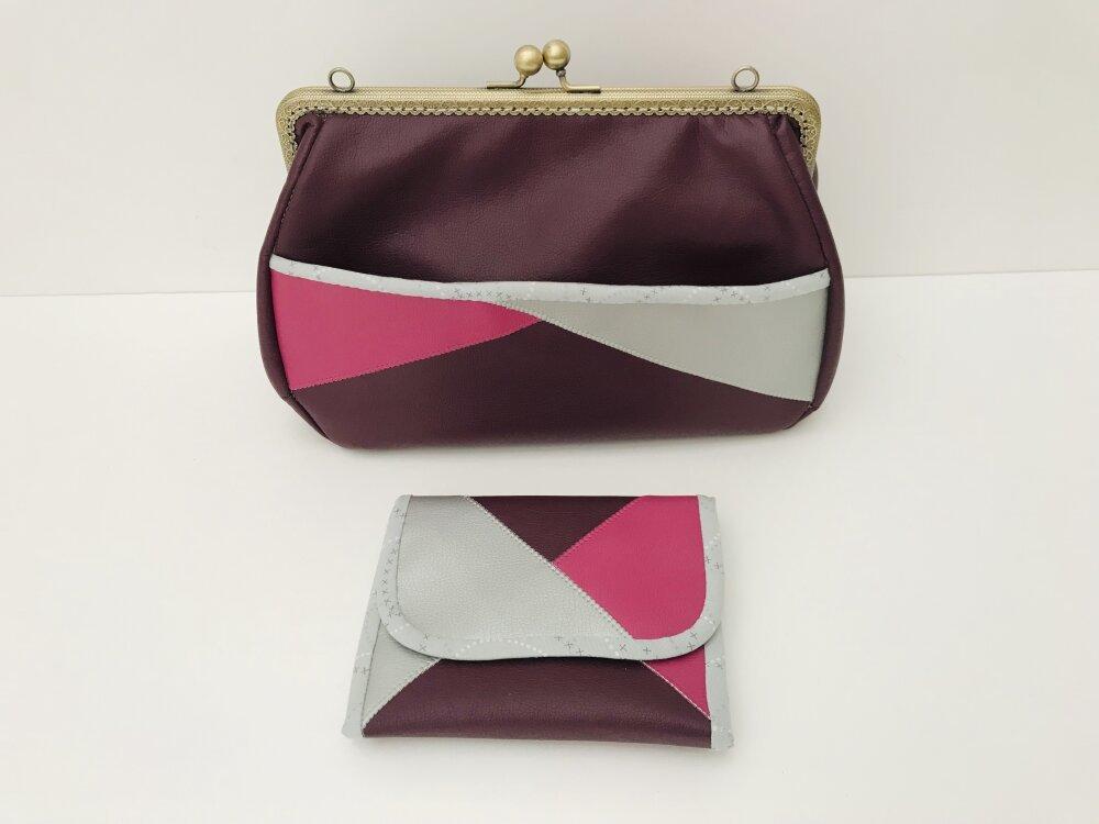 sac tricolore fait main