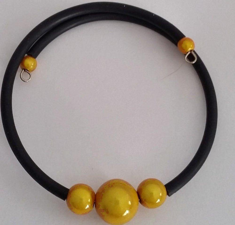 Bracelet jaune