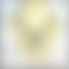 Collier chaîne avec fermoir coeur, couleur argent 44 cm de long, taille ajustable, idée cadeau - italyhere