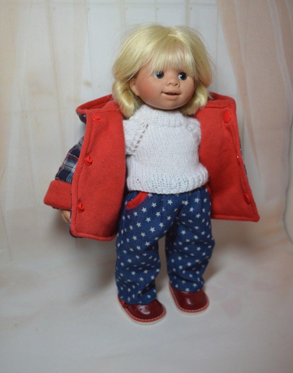 Vêtements poupée Wichtel 32cm