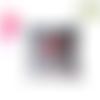 Coussin fait main coton motif 3 d multicolore marque française jarakymini