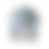 Manteau 40 euros bébés filles fourrure (point) blanc laine fait-main  mode automne hiver 2020-2021