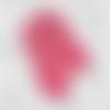 Bottes de marque fait main crochet point fourrure fuchsia bébés filles