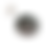 Doudou chien gris et blanc dans son panier fait main au crochet  laine grise et blanche, collection automne-hiver 2020-2021 @ jarakimini