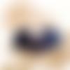 Col tour de coup snood fausse-fourrure violet porte bijoux (colliers) fait-main au crochet @ jarakymini