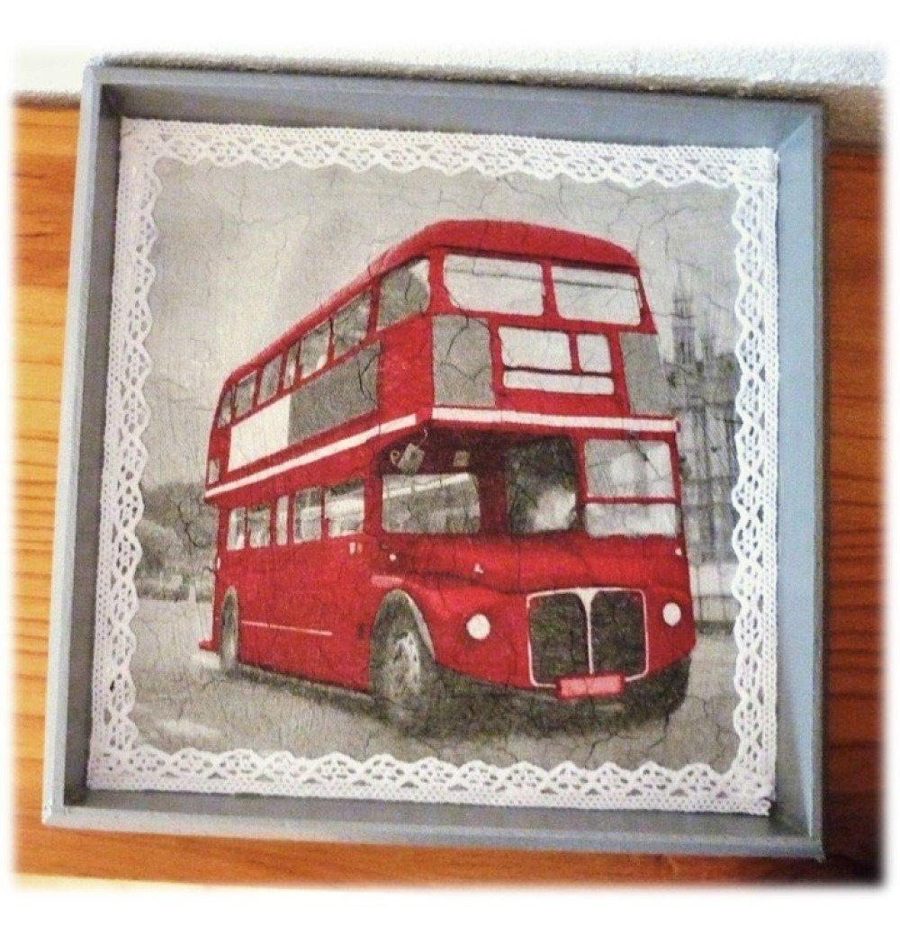 "Plateau / vide-poche ""bus anglais"""