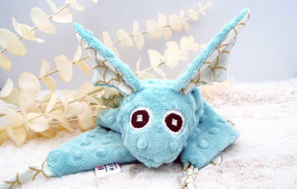Doudou dragon pour bébé