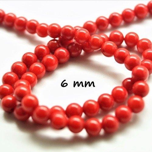 Lot de Perles de Nacre Coquille Rondes Blanc Ivoire 6mm 8mm 10mm