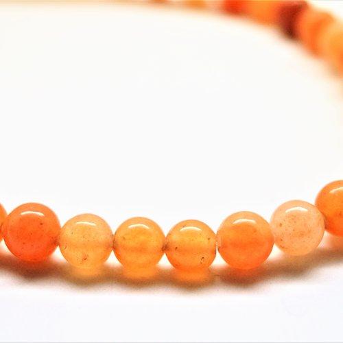 Perles aventurine rondes 8 mm par lot de 10