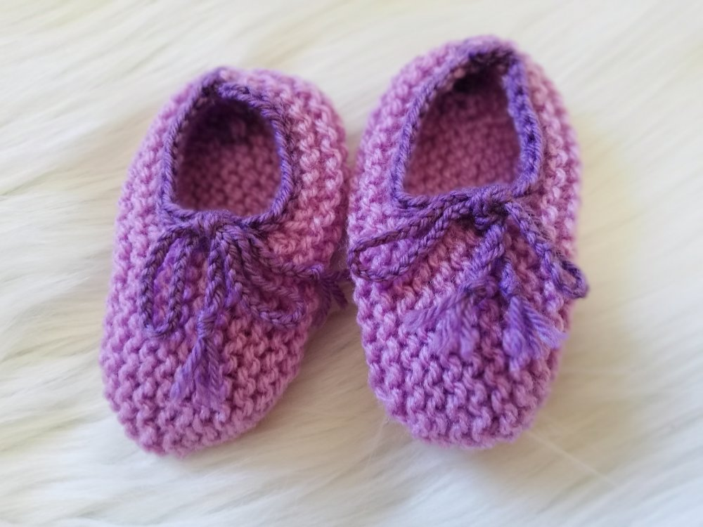 ensemble 3 pièces bébé fille brassière/gilet + bandeau + chaussons