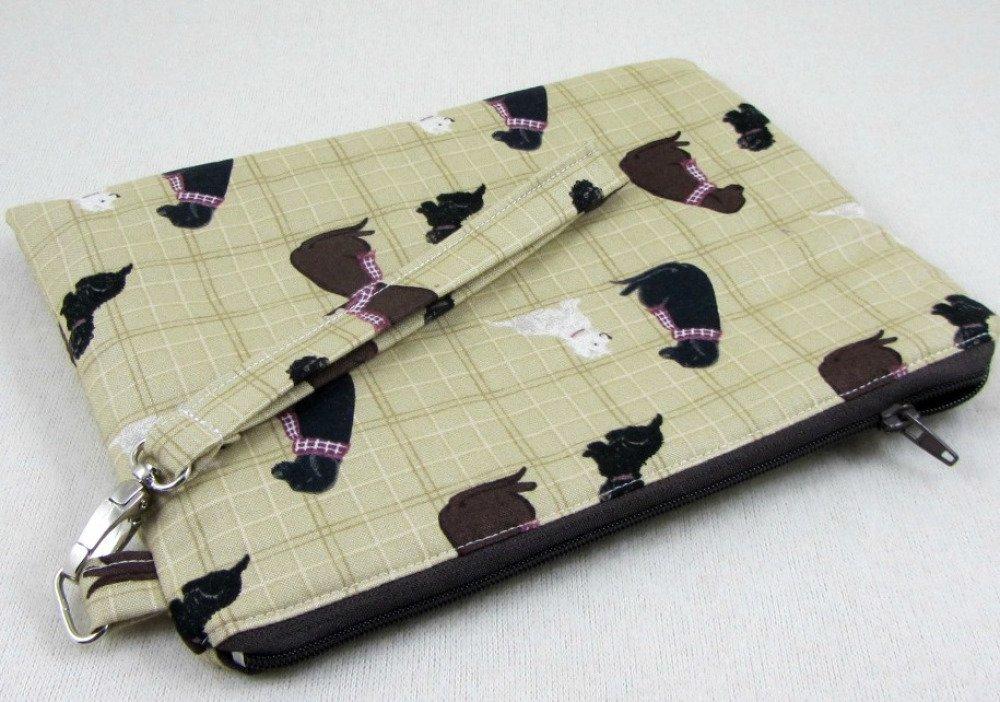 Pochette multifonction en coton les chiens