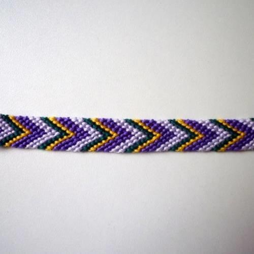 bracelet bresilien violet