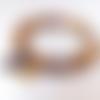 Bracelet de pierres naturelles femme - jaspe mokaite