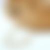 Collier femme - elegant collier court perle de citrine