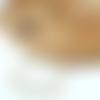 Collier femme - elegant collier court perle d'aigue marine