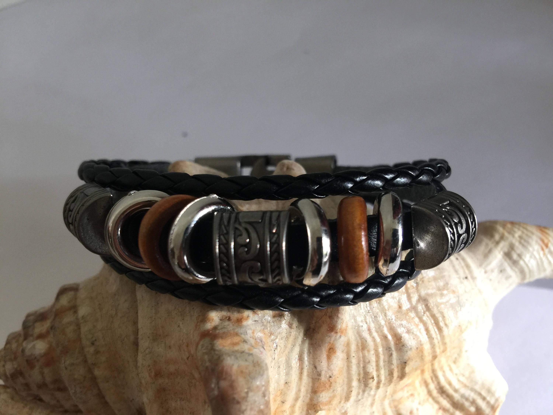 bracelet cuir celtic