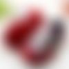 Baskets bébé en toile customisées - 3/6mois - divers coloris