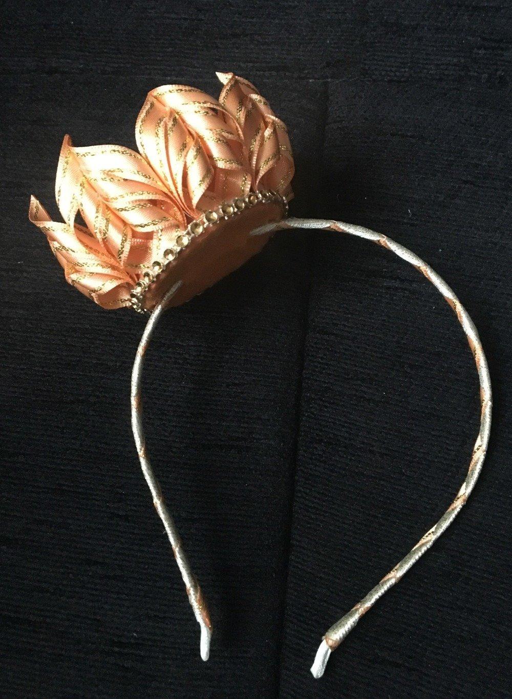 Couronne de Princesse Saumon / Doré