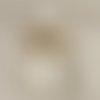 Lustre bois flotté lin 30 cm- abat jour cylindrique - plafonnier cylindre - suspension - luminaire rond