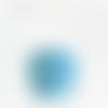Suspension double abat jour motif géométrique riad bleu
