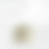 Lustre suspension tissu motif provençal éventails beaucaire vert abat jour cylindrique 40 cm + fil électriqu