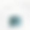 Lustre suspension abat jour motif art déco bleu et argenté cylindrique 35 cm  géométrique + fil électrique