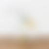 Lampe tube motif scandinave - jaune gris - lampe chevet d'appoint - idée cadeau - hygge - scandinave - cocconing