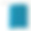 Applique murale bleu étoiles blanches 20 x 20 cm