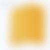 Applique murale format carré coins ronds motif géométrique riad jaune