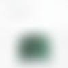 Lustre suspension abat jour tissu aborigène vert motifs tortues marines 40 cm cylindre + fil électrique