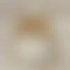Lustre bois flotté abat jour lin cylindre 40 cm