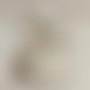 Lustre bois flotté abat jour lin 30 cm