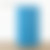Lampe tube bleue motifs aborigène