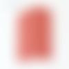 Applique murale format carré coins ronds motif géométrique riad rouge