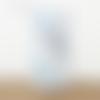 Lampe tube baby boy motifs bleu et gris animaux  ø 15 cm