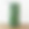 Lampe tube jungle feuilles exotiques vertes