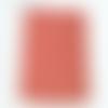 Applique murale forme d'angle format géométrique riad rouge