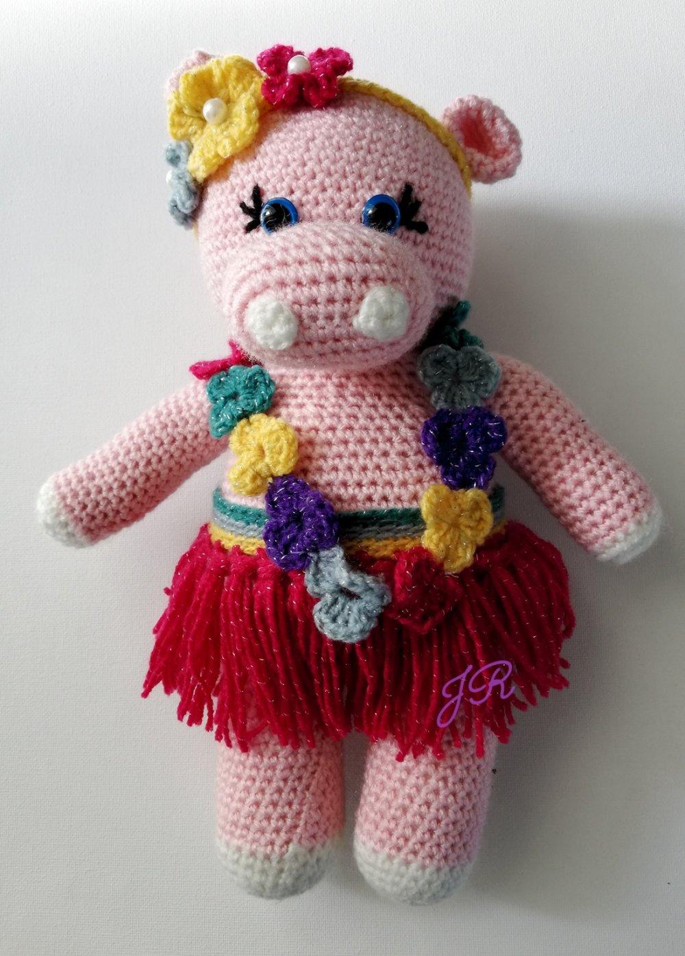 Ipo-Line la petite hippopotame hawaïenne