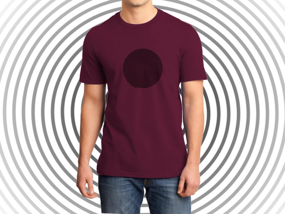 Hypnosis T-shirt Homme Manches Courtes