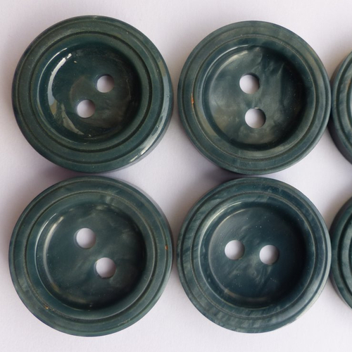 Bouton Boutons 25 Pièce Vert 17,5 mm Taille #2920#