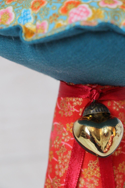 Champignon Tissu Japonais