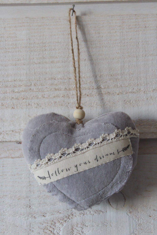 Coeur en velours mauve (follow your  dream) (n°42)