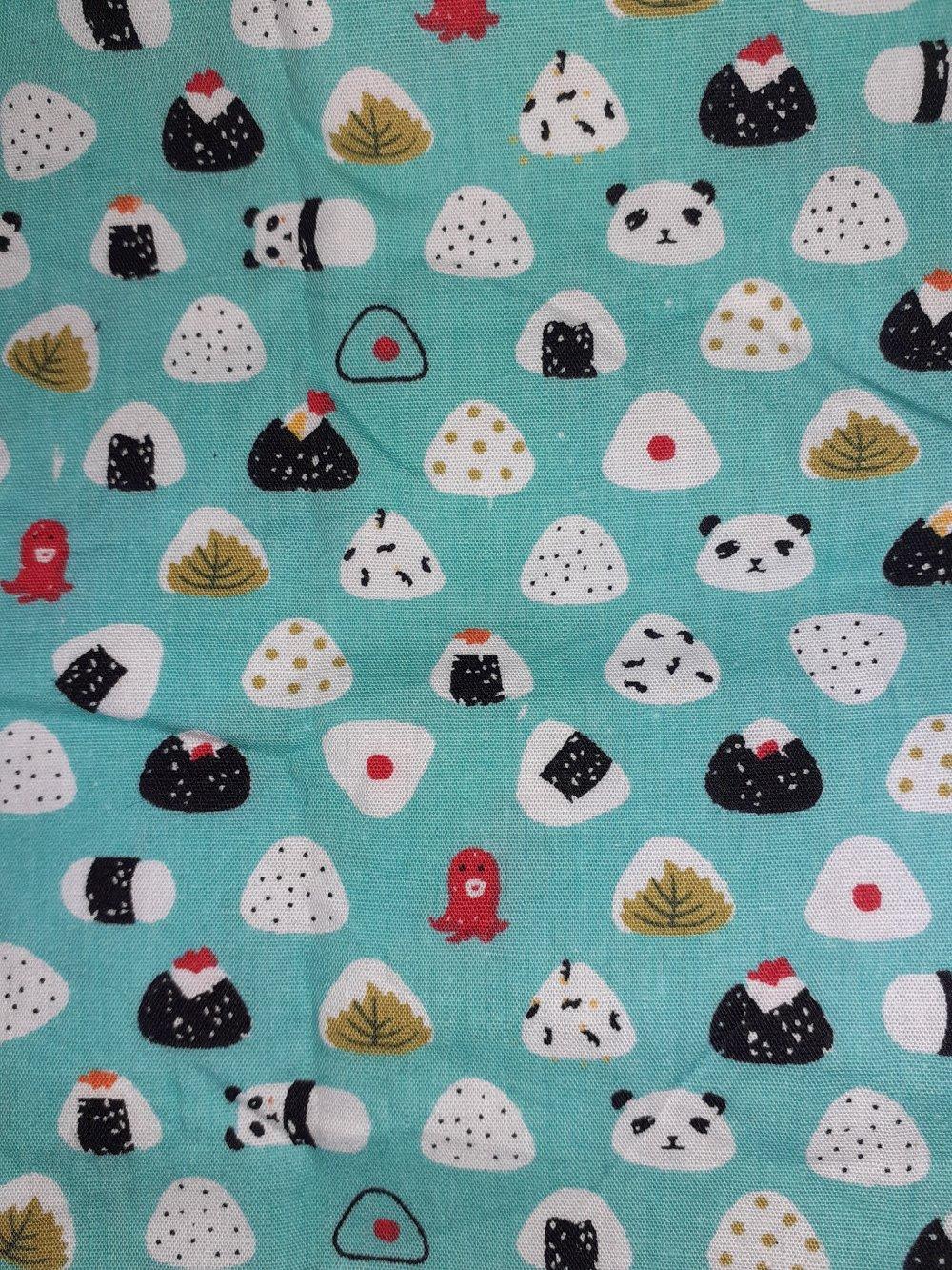 Coupon tissu coton neuf  45 x 45 cm